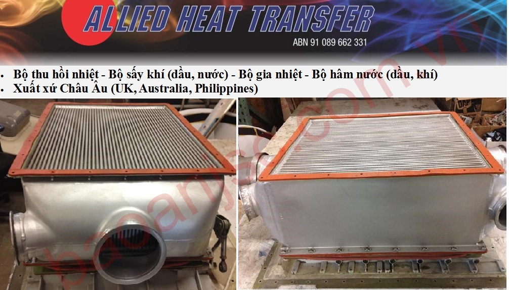 Bo say khi ALLIED HEAT TRANSFER