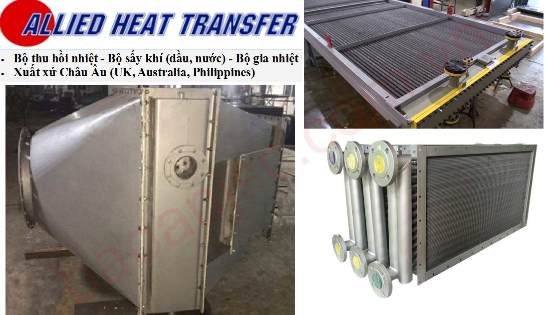 Bo thu hoi nhiet ALLIED HEAT TRANSFER