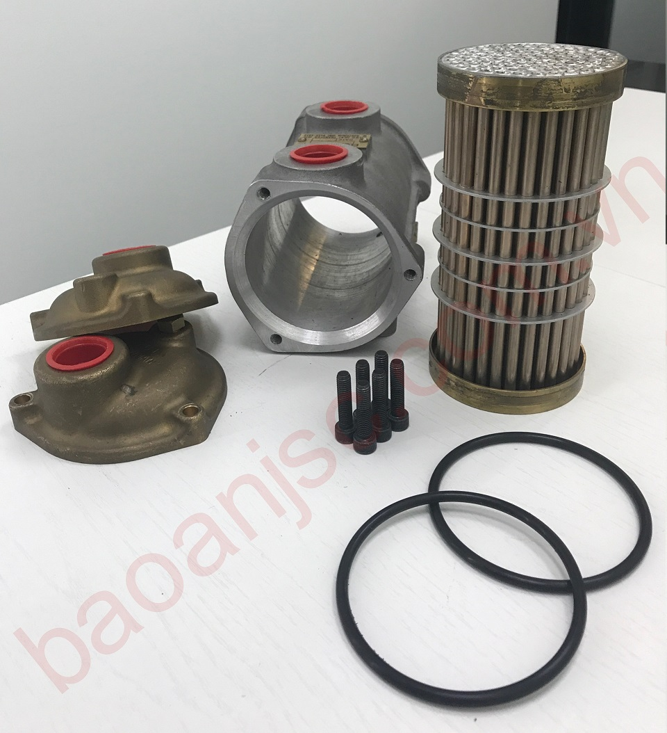 De dang thao roi tung bo phan voi oil cooler ALLIED HEAT TRANSFER - BOWMAN